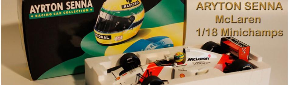 Aryton Senna 1/18