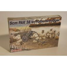 5 CM PAK 38 W/FALLSCHIRM JAGER