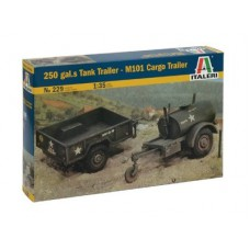 250 GAL.S TANK TRAILER - M101 CARGO TRAILER